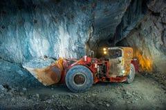 Goldminetunnel Lizenzfreie Stockfotografie