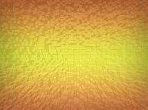 Goldmosaikhintergrund Stockbild