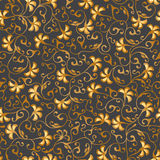 Goldnahtlose mit Blumenspitze Verschiedene Varianten der Farbe sind möglich Stockfotos