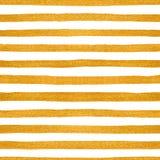 Goldnahtloses Muster von goldenen Streifen Stockbilder