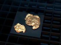 Goldnuggets Lizenzfreies Stockbild
