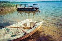 Goldopiwo lake on Masuria in Poland. Royalty Free Stock Image
