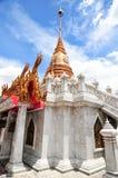 Goldpagode in Bangkok Thailand Stockbilder