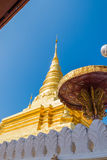 Goldpagode im Norden von Thailand Stockfotos