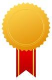 Goldpreismedaille Lizenzfreies Stockfoto