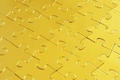 Goldpuzzlespiel Lizenzfreies Stockfoto