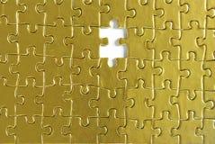 Goldpuzzlespiele Lizenzfreie Stockfotos