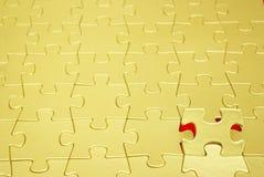 Goldpuzzlespiele Lizenzfreie Stockfotografie