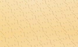 Goldpuzzlespielhintergrund Stockfoto