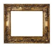 Goldrahmen lizenzfreie stockfotos