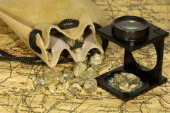 Goldrausch lizenzfreies stockbild