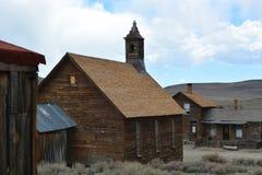 Goldrausch-Geisterstadt - Bodie California Stockfoto