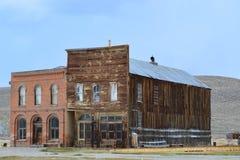 Goldrausch-Geisterstadt - Bodie California Lizenzfreies Stockfoto