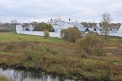 Goldring von Russland Suzdal Stockbild