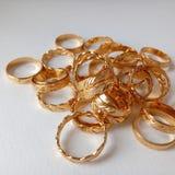 Goldrings Stockbild
