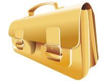 Goldrucksack Stockbild