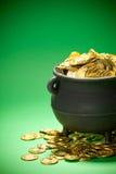 Goldschatz: Geerntete Ansicht des Goldes im Großen Kessel Stockfotos