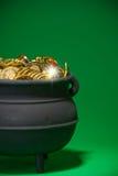 Goldschatz: Magischer Schatz Stockbilder