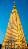 Goldschloss am Abend Stockbilder
