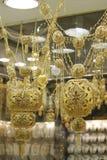 Goldschmucksachen Stockbild