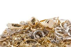 Goldschmucksachen Lizenzfreie Stockfotos