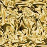 Goldseide-Beschaffenheit Lizenzfreie Stockbilder