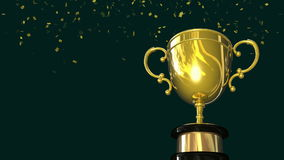 Goldsieger-Trophäen-Cup-Schleife