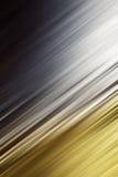 Goldsilber unscharfer Hintergrund schief Stockbild