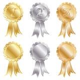 Goldsilberne Bronze Lizenzfreie Stockbilder