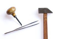Goldsmith's tools Stock Photo