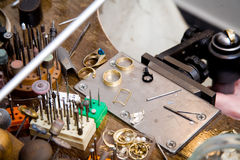 Goldsmith tools Stock Images