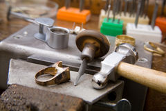 Goldsmith tools Stock Photography