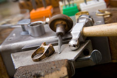 Goldsmith tools Stock Image
