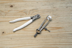 Goldsmith tools 3 Stock Image