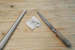 Goldsmith tools 1 Stock Photos