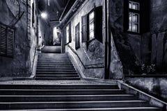 Goldsmiths passage, in Sibiu, Romania Stock Photos
