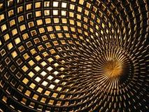 Goldspiegel-Detail Lizenzfreies Stockbild