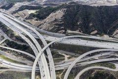 Goldstaat 5 und Austausch Los Angeles des Weg-14 Lizenzfreie Stockfotos