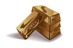 Goldstababbildung lizenzfreie abbildung
