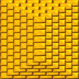 Goldstabpyramide Lizenzfreie Stockfotografie
