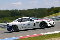 Goldstein/Sundberg nell'azione alla FIA WTCC Trofeo Gr Fotografia Stock Libera da Diritti