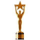 Goldstern-Preis Lizenzfreies Stockbild