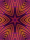 Goldstern Stripes Muster lizenzfreie abbildung