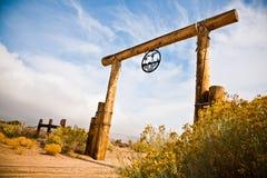 Goldtal-Ranch Lizenzfreies Stockfoto