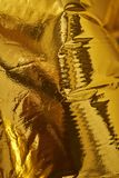 Goldtiefes Beschaffenheit backgroundd mit hoher Dichte Lizenzfreie Stockfotos
