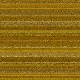 Goldtone Metalloberfläche mit Streifen und Falten stockbilder