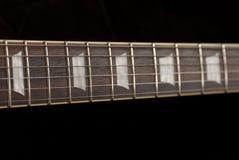 Goldtop E-Gitarre mit p90 Stockbilder