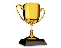 Goldtrophäe-Cup Lizenzfreie Stockbilder