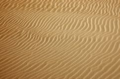 Goldwüste Sandbeschaffenheit Stockfoto