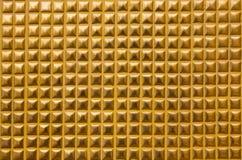 Goldwandbeschaffenheit Lizenzfreies Stockfoto
